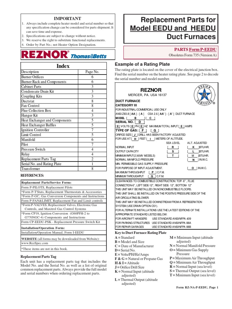 Reznor Unit Heater Parts Diagram Wiring Harness Wiring Diagram