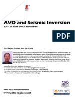124138375 AVO and Seismic Inversion