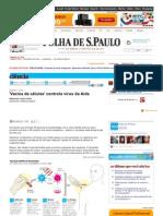 Www1.Folha.uol.Com.br Ciencia 1209254 Vacina de Celulas Controla Virus Da Aids.s