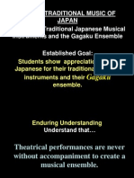 SY2012-2013 4Qtr Lesson 15 Music II - Traditional Japanese Musical Instruments and the Gagaku Ensemble