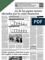La Crisis Financiera en el Peru - 1er Trimestre