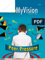 MyVision issue Peer Pressure April 2013