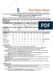05.28.13 Post-Game Notes