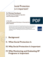 Day 1 Session 1 ADB - What is social protection and why  is it important?
