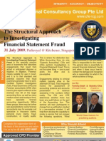 Structural Approach to Investigating Financial Statement Fraud