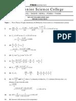 MT-CET 2013 PCM Solution - 15.04.2013