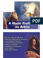 A MAIOR PROFECIA DA BÍBLIA