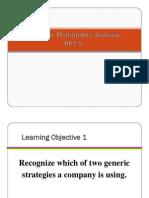 Strategic Profitability Analysis