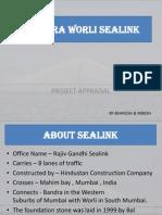 Bandra Worli Sealink Project Mumbai