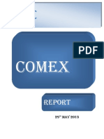 Comex Report Daily 29 May