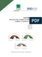 Calentamiento Global Guatemala