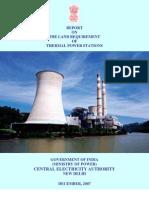 CEA LandRequirement TPP Dec2007