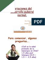 11-Variaciones Del Desarrollo Puberal Normal
