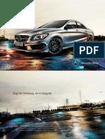 Mercedes-benz-cla-class-c117 Brochure 01 2300 de de 11-2012