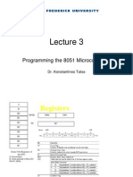 Programming 8051 microcontroller