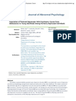 5- Association of Parental Depression With Psychiatric Course From Adolescence to Young Adulthood Among Formerly Depressed Individuals