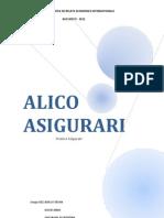 Alico Asigurari Project