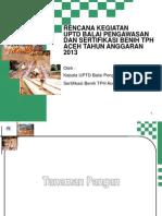 Uptd Bpsb_rencana Kegiatan 2013