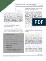 Informe Semanal Del 11 al 17 Abril 2009