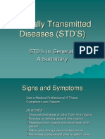 Sexually Transmitted Diseases (STD'S)