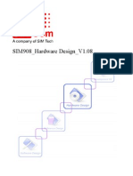 SIM908 Hardware Design V1.08