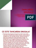 TAHICARDIA SINUSALA