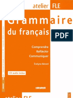 Grammair Du Francais Niveaux B1 B2 Coperta