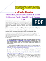 Join the Public Hearing on Fyup- You Have a Right to Know!