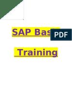 Sap Basis Training Guide