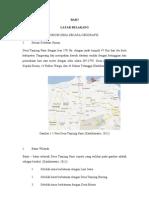 Contoh Laporan Diagnosis Komunitas Puskesmas Kecamatan Tegal Angus