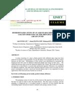 Hydrodynamic Study of Anadjustableheightpacked Column Operating