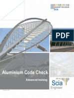 SCIA Engineer - Advanced Training Aluminium 2010.1.0