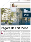 L'àgora de Fort Pienc - Catalina Gayà - El Periódico 27/Maig/2013