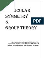 Molecular Symmetry & Group Theory