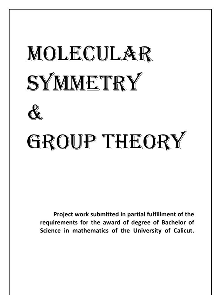 Dissertation essay in philosophy symmetry