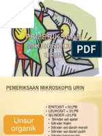 pemeriksaan mikroskopis urin