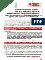 Comunicado Enmienda a La Reforma Laboral