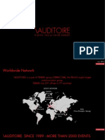 Auditoire Qatar Corporate Profile
