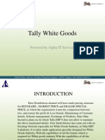 White Goods PPT
