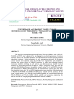 Performance and Handoff Evaluation of Heterogeneous Wireless Networks-2
