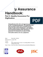 Qa Handbook Digitisation
