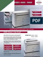 ROWE RCS4000-RCS6000-RCS8000-RCS9000