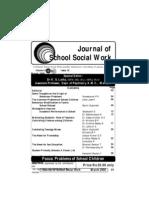 Journal of School Social Work June 2006