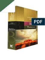 BÍBLIA THOMPSON - NOVO TESTAMENTO