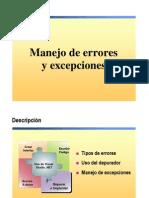 8.- Manejo de Errores y Excepciones