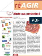 Campagne 37 Pesticides