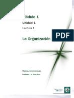 Lectura 1 - La Organización.pdf