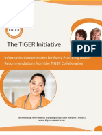 Tiger Report_Informatics Competencies