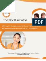 Tiger Report_Informatics Competencies
