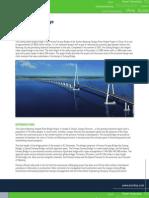 Bentley Structural the Sutong Bridge Analysis Hi Res